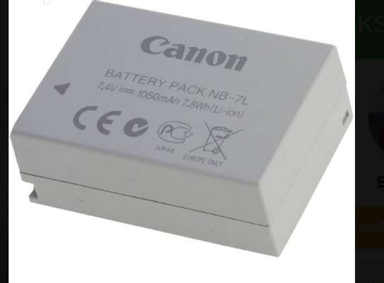 Canon NB-7L Battery Rechargeable image 2
