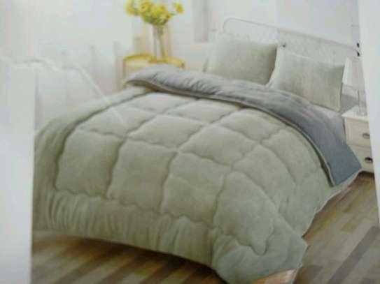 Heavy plain woolen duvet 5*6 & 6*6 image 1