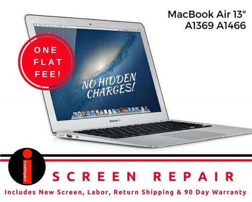 """Broken LCD Screen Replacement for Macbook Air 13"""" A1466 2013 2014 2015 image 3"""