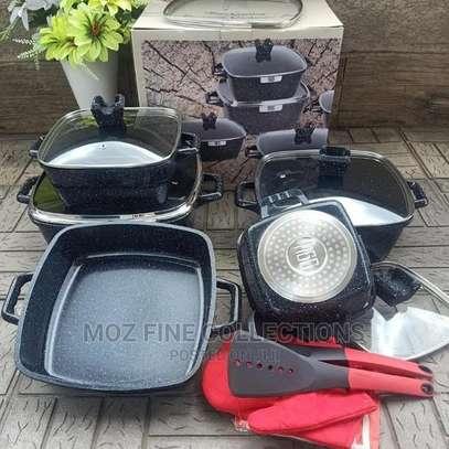 15 Piece Granite Cookware Set image 3