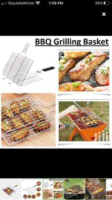 *BBQ Berbecue Stainless steel mesh image 1