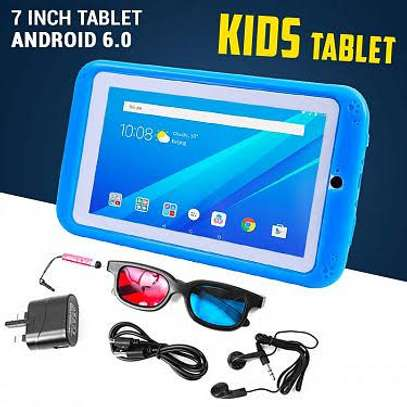 Kids 7-Inch Tablet  With Protective Case. image 1
