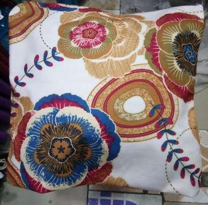 elegant fluffy throw pillow image 2