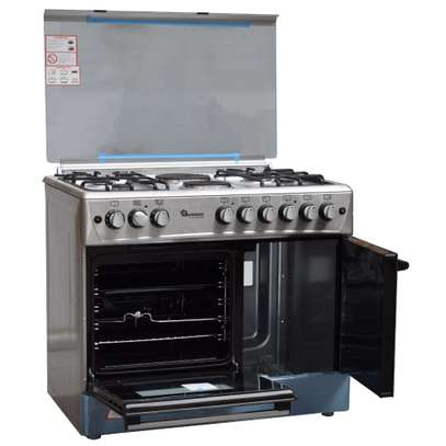 Ramtons 4G+2E 90X60 STAINLESS STEEL COOKER- RF/493 image 4