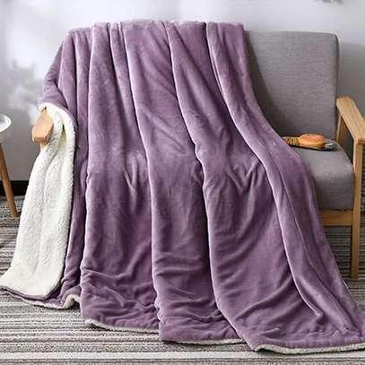 flannel Throw Sherpa super Warm Fleece Blankets?? image 1