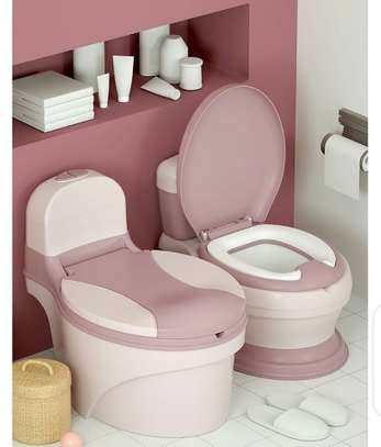 Children Simulation Toilet Infant Pony Bucket Potty Seat with Removable Inner Bucket image 12