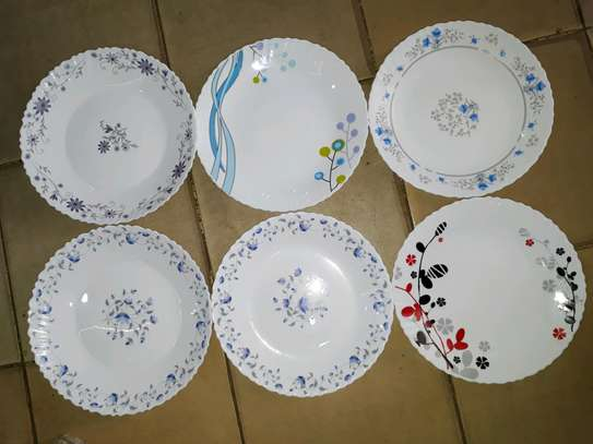 6pc 10inch dinner set image 1