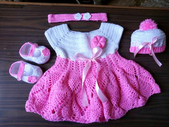 Crochet girls dresses