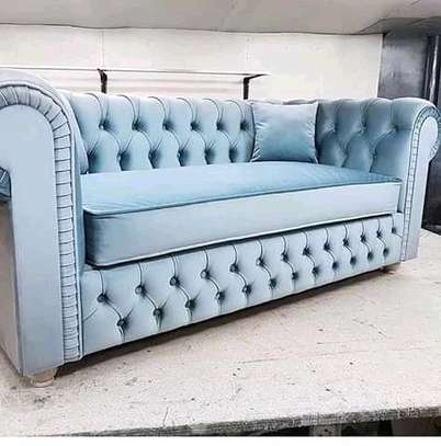 Tufted beds and chairs. image 3