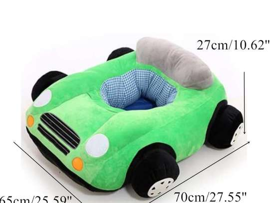 baby Car Sitting Children's Sofa,Plush Baby Sitting Learning Kid's Chair Floor seat Infant positioner Anti-Fall and Rollover Children's Furniture for Kids 3-18 Months image 6