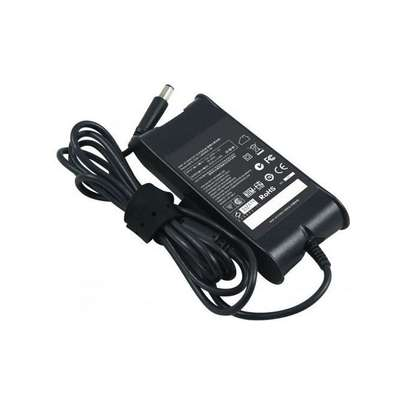Laptop Adapter Charger - 90W 19.5V 4.62A - for Dell Laptops - Black image 1