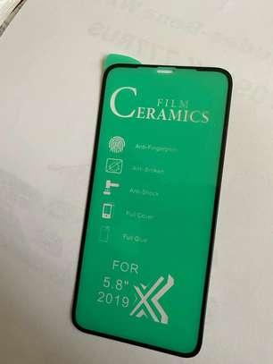 Ceramic 5D Full Glue Glass Protector Flexible Anti-Break,Anti-Fingerprint for iPhone X  XS image 14