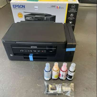 Epson L3060 All In One Ink Tank WiFi Print Scan Copy Printer image 1