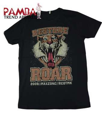 Restore The Roar- Round-neck T-shirt