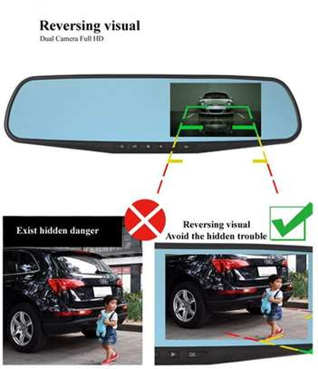 Dash Cameras 1080p HD Front and Rearview image 2