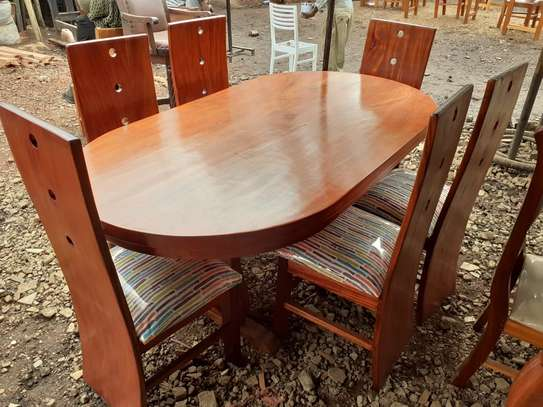 Oval Dining Table image 1