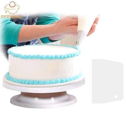 32cm Cake Turntable Round Stand image 2