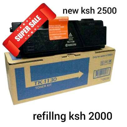 TK-1130 kyocera toner refillng image 1