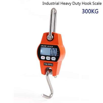 300kg digital scale electronic balance heavy duty lcd hanging hook scales image 1