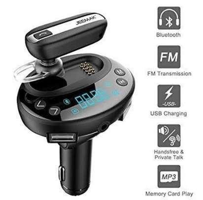 Car FM Bluetooth modulator image 1