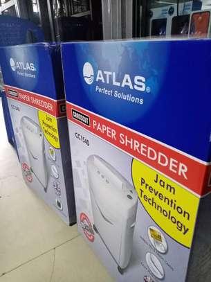 Atlas Paper Shredder CC1540 Cross Cut image 2
