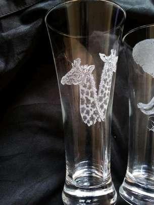 Hand engraved glasses image 3