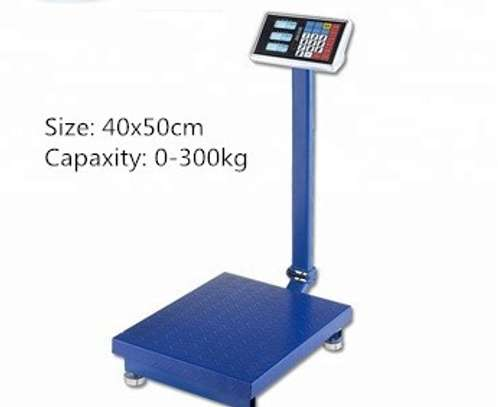 300 Kg Digital Weighing Scale Small Scale Industrial Machine image 1