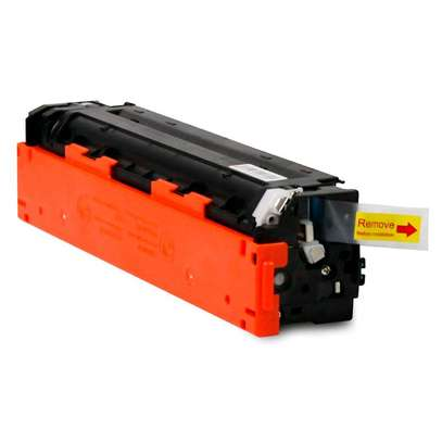125A yellow cartridge CB542A printer number HP Color LaserJet CP1515n/CP1518ni and HP Color LaserJet CP1215 and HP LaserJet P1505 Printer series; and HP Color LaserJet CM 1312MFP and HP LaserJet M1522MFP and HP LaserJet M1120MFP. image 1