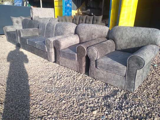 3*2*1*1 Back Permanent 7 Seater Sofas image 1