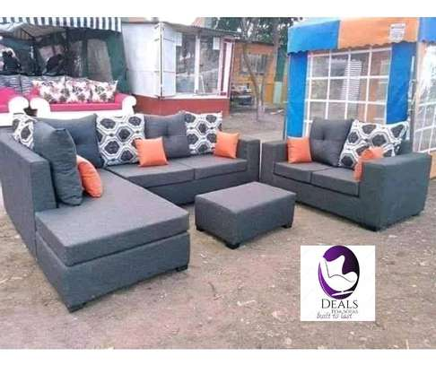 Six Seater Corner Seat + Sofabed/ Two Seater image 9