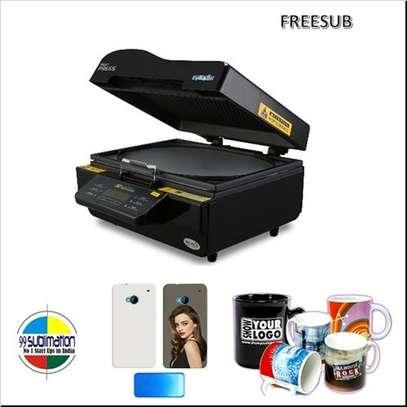 3D oven for sublimation Heat Press Machine . image 1