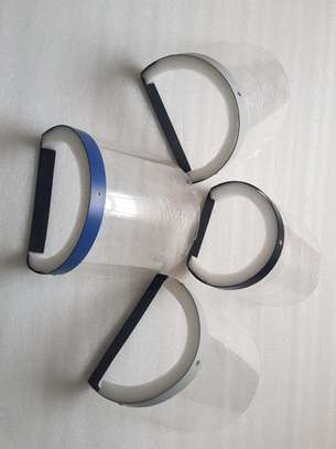 Face shields 0.3 mm Visor thickness