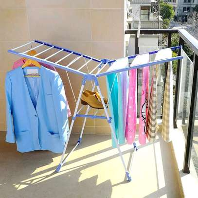 Outdoor clothing drying rack image 2