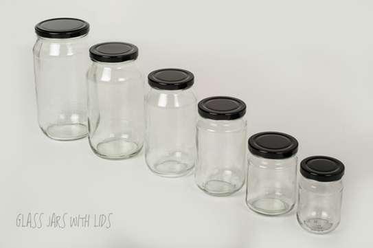 Multipurpose Storage Glass Jars, 28g/ml to 2kg/ml image 3