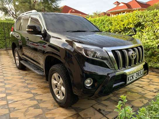 Land Cruiser Prado 2009 Black