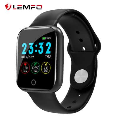 Heart Rate Sports Watch Activity Tracker i5 – Black image 2