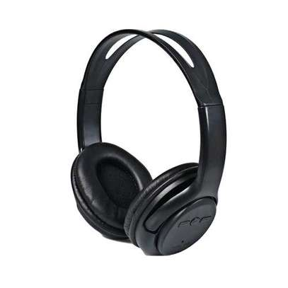 Wireless Stereo Headphones - Black image 3