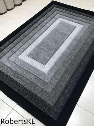 black and grey soft carpet image 1