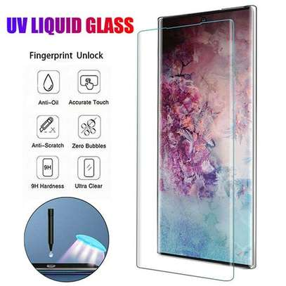 UV Full Adhesive Tempered Glass film for Samsung Galaxy Note 10/Note 10 Plus Screen Protector image 3