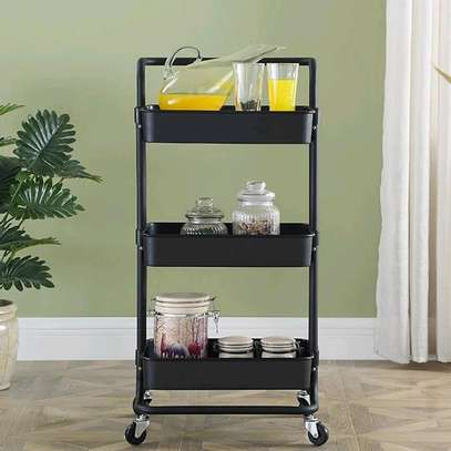 Movable Trolley 3 tier image 3