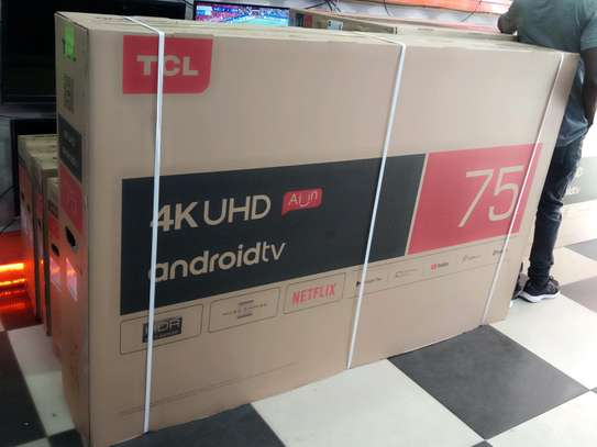 2019 TCL 75 Inch Android 4K UHD Smart TV Model 75T8M with NETFLIX YouTube WiFi Brand New