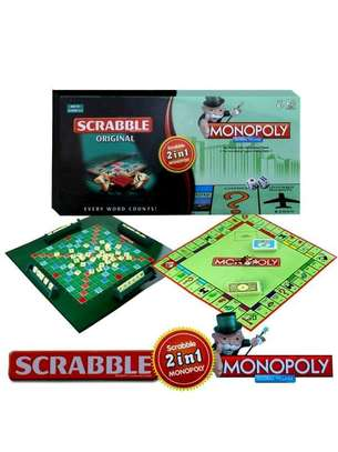 scrabble 2 in 1 Monopoly image 1