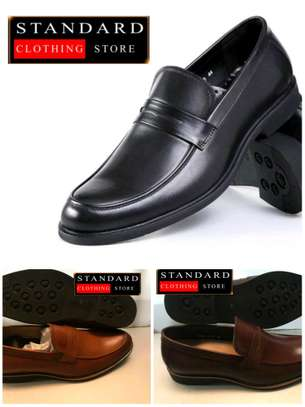 PURE ITALIAN LEATHER SHOES WITH RUBBER SOLE image 2