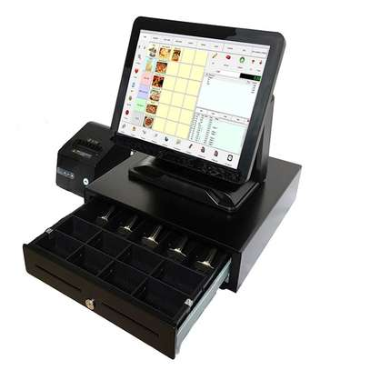 15 Inch All In One Capacitive Touch POS Touch Terminal Complete Restaurant System