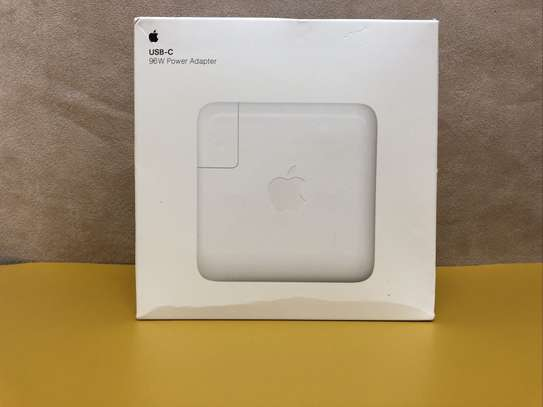 Apple 96W USB C Power Adapter MacBook Air/Pro Charger A2166 & 2M USBC Cable image 2
