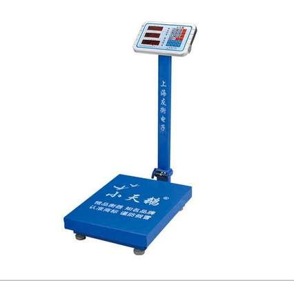 Strong Stainless Steel 150kg  Digital Weighing Scale. image 1
