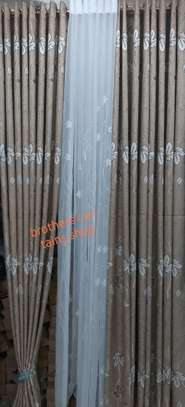 Brown curtain image 1