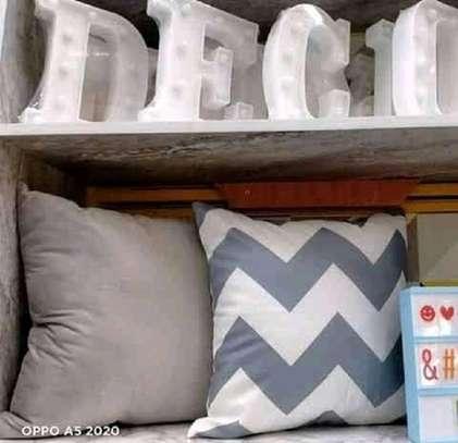 throw pillows grey and white prints image 1