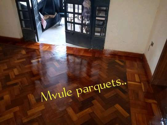 Installation . Best dustless wooden floor sanding and polishing services at affordable price image 7