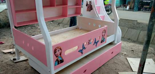 Kids Bunkbed with storage stairs image 2